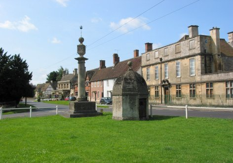 Ashton House, Village Green and 'Lock-up'