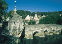 Bradford on Avon, Jasmine Cottage self catering holiday accommodation, near Bath, Wiltshire