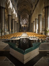 Salisbury Cathedral, Jasmine Cottage self catering holiday accommodation, near Bath, Wiltshire