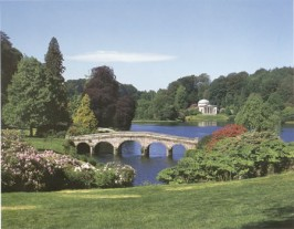 Stourhead Gardens, Jasmine Cottage self catering holiday accommodation, near Bath, Wiltshire